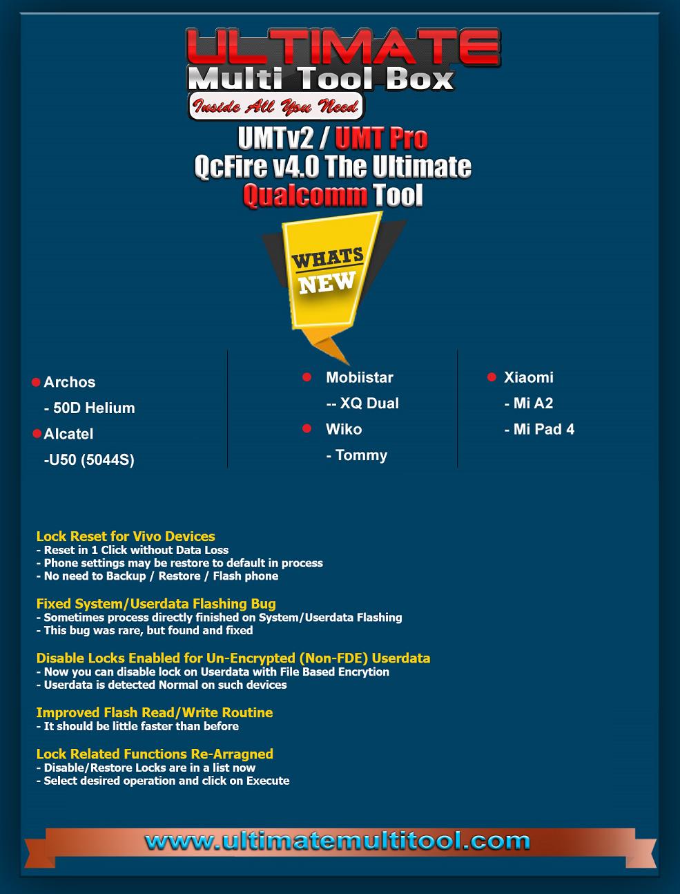 تحديثات يو إم تي كوالكوم - UMT Qualcomm Qc Fire Update | الصفحة 3
